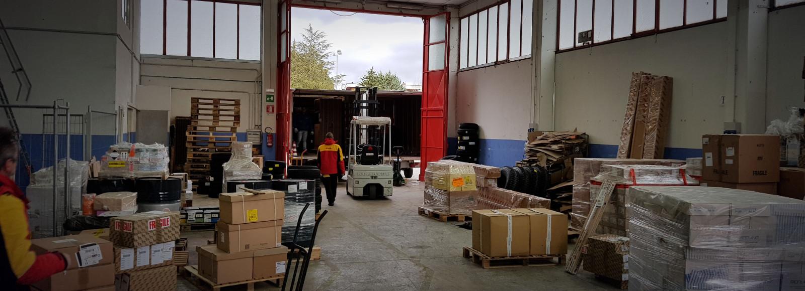 spedizioni espresse corriere mercurio campobasso magazzino logistica